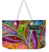 Hope Springs Anew Weekender Tote Bag