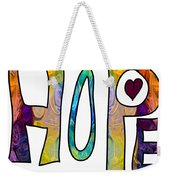 Hopeful Futures Abstract Inspirational Art By Omaste Witkowski Weekender Tote Bag