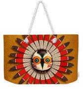 Hopi Owl Mask Weekender Tote Bag