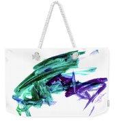 Hopper Collision Weekender Tote Bag