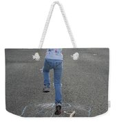 Hopscotch Queen Weekender Tote Bag