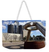 Horace Dodge Fountain Hart Plaza Detroit  Weekender Tote Bag