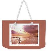Horizon Of Hope Weekender Tote Bag