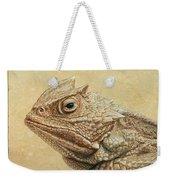 Horned Toad Weekender Tote Bag