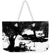 Horns And Shadows Weekender Tote Bag