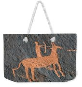 Horse And Arrow Weekender Tote Bag