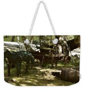 Horse And Buggy Weekender Tote Bag