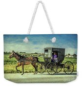 Horse And Buggy Weekender Tote Bag