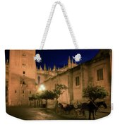 Horse And Carriage Seville Spain Weekender Tote Bag