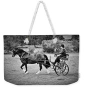 Horse And Cart Weekender Tote Bag