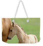 Horse And Colt Weekender Tote Bag