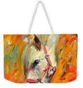 Horse And Grass Weekender Tote Bag