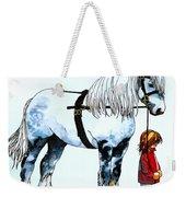 Horse And Groom Weekender Tote Bag