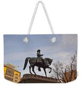 Horse And Rider Monument Weekender Tote Bag