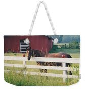 Horse And The Barn Weekender Tote Bag