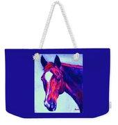 Horse Art Horse Portrait Maduro Psychedelic Weekender Tote Bag