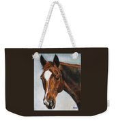Horse Art Portrait Of Horse Maduro Weekender Tote Bag