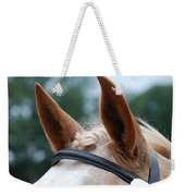 Horse At Attention Weekender Tote Bag