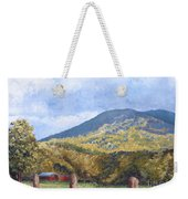 Horse Barn At Cades Cove Weekender Tote Bag