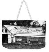 Horse Barn Now Weekender Tote Bag