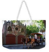 Horse Carriage At Kings Street Weekender Tote Bag