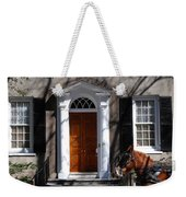 Horse Carriage In Charleston Weekender Tote Bag