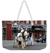 Horse Carriage In Nashville Weekender Tote Bag