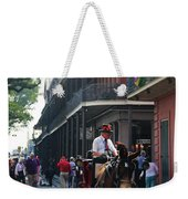 Horse Carriage Ride Weekender Tote Bag