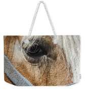 Horse Close Up Weekender Tote Bag