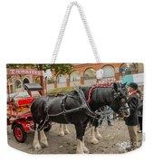 Horse Dray Weekender Tote Bag