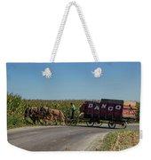 Horse Driven Weekender Tote Bag