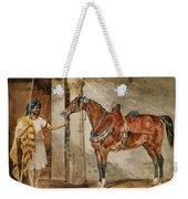 Horse Eastern Weekender Tote Bag