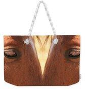 Horse Eyes Love Weekender Tote Bag