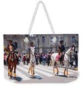 Horse Guard At Parade Weekender Tote Bag