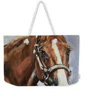 Horse Head Portrait Weekender Tote Bag