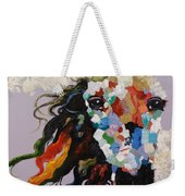 Puzzle Horse Head  Weekender Tote Bag by Rosario Piazza