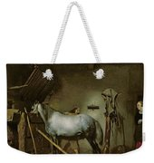 Horse In A Stable Weekender Tote Bag
