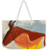 Horse In Contemplation Weekender Tote Bag