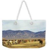Horse In Eastern Sierras Weekender Tote Bag