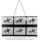 Horse In Motion, 1878 Weekender Tote Bag