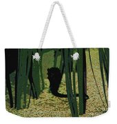 Horse In The Grass Weekender Tote Bag