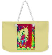 Horse Painting Jumper No Faults Psychedelic Weekender Tote Bag