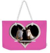 Horse Lovers Weekender Tote Bag