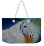 Horse Painting- Knight In Dream Weekender Tote Bag