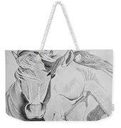 Horse Pair Weekender Tote Bag