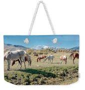 Horse Pasture Weekender Tote Bag