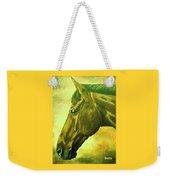 horse portrait PRINCETON soft colors Weekender Tote Bag