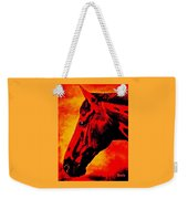 horse portrait PRINCETON sunset Weekender Tote Bag