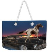 Horse Power Weekender Tote Bag