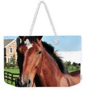 Horse Profile Weekender Tote Bag